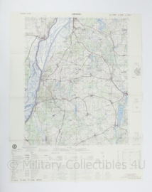 USA Defence mapping agency stafkaart Poland Gryfino M753 2224II - 1 : 50.000 - 74 x 58 cm - origineel