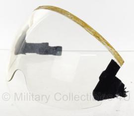F16 visier - helder - Gentex - incompleet - zonder riempjes - origineel