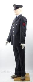 Nederlandse PTT uniform set, jasje, broek en pet - met originele knopen - maat L - origineel