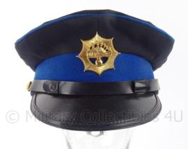 Korps Rijkspolitie te water platte pet met insigne - maat 54 - origineel