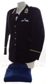 KL Nederlandse leger KMS DAMES uniform jas met rok - maat NM - origineel