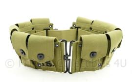 Garand ammunition belt khaki Garand belt