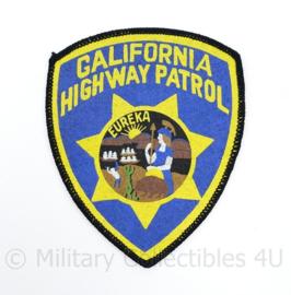 California Highway Patrol Patch - 12,5 x 10 cm - origineel