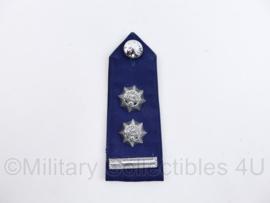 Korps Rijkspolitie epaulet Hoge rang  - Rang Dirigerend Officier 2e klasse - 1 enkele epaulet - origineel