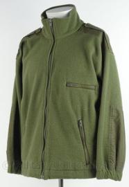 KL Landmacht en Korps Mariniers Fleece jacket - gebruikt - merk Prof BV - 1993 - maat 6080-0010 - origineel