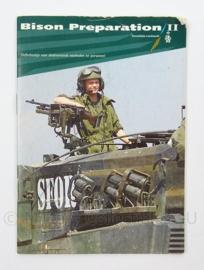 SFOR tijschrift Bison Preperation II - oefenboekje voor deelnemende eenheden - afmeting 10 x 15 cm - origineel
