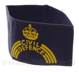 Civil Defence armband - blauw - origineel