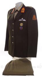 KL Nederlandse leger DT DAMES kledingset - jas, blouse, rok en strik - maat 40 - origineel