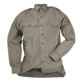 Brits Leger Overhemd Shirt Mans Tropical Stone Grey- maat 37 - origineel