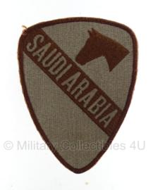 US Army 1st cavalry division patch desert Saudi Arabia - Vietnam oorlog - origineel
