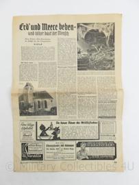 Krant die Grune Post  14 juli 1935 - origineel