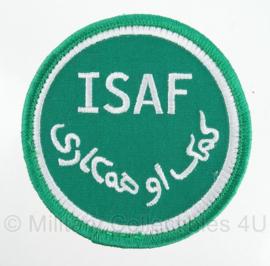 KL ISAF embleem - met klittenband - ongebruikt - origineel