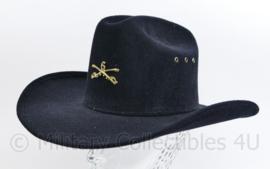 Amerikaanse Civil war US 6th Cavalry hat - maat 54 -Replica