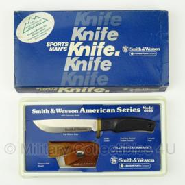 Smith & Wesson mes met beschermhoes - model 6080 - nieuw in verpakking - origineel