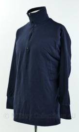 KM Koninklijke Marine en KMAR rolkraag hemd - donkerblauw - maat 8090/8595 - origineel