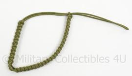 Nederlands leger vroeg model koord - groen - origineel
