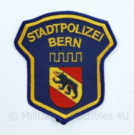 Stadtpolizei Bern patch Zwitserland - 11 x 9,5 cm - origineel