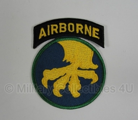 WWII US 17th Airborne Division patch