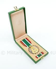 Kingdom of Saudi Arabia Liberation of Kuwait medaille set in origineel doosje - 9,5 x 4 cm - origineel