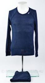 Defensie Odlo ondergoed set shirt met broek donkerblauw - L - origineel