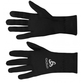 Odlo Gloves Originals Warm Sporthandschoenen Unisex - Black - maat large