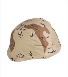 Helmovertrek 1e Golfoorlog Desert camo PASGT helm - maat Medium en Large - nieuwstaat maar origineel