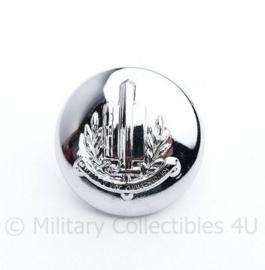 Gemeentepolitie knoop 24 MM zilver - nieuw