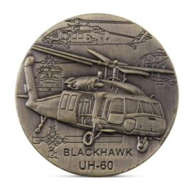 Coin United States Army Blackhawk UH-60  - diameter 4 cm - origineel