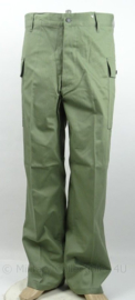 HBT trouser Herringbone twill - OD green No.3