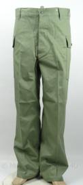 HBT trouser Herringbone twill - OD green No.3