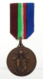 Italiaanse leger Medaille 26 BTG fanteria Bergamo - brons - origineel