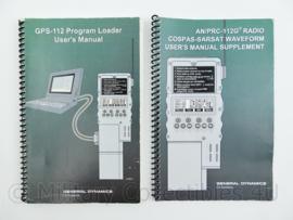 US Army zendapparatuur AN/PRC GPS112 Manual paar GPS Receiver - origineel