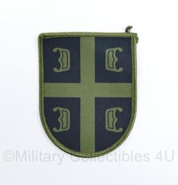 Servisch borstembleem camo - Serbian Army Green Patch - 9 x 7 cm - origineel