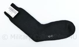 Bata Industries sok wol dik zwart 75 % Superwash wol - maat 45- 47 - NIEUW - origineel