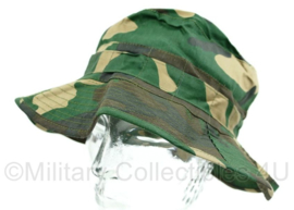 Korps Mariniers boonie bush hat - Hassing BV - Woodland forest camo - maat 57 cm  - origineel