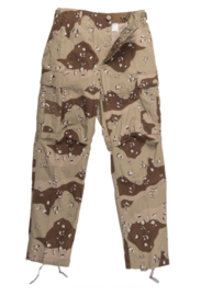 US Golfoorlog field trouser DBDU DESERT Six-Color Desert Pattern - maat Small Regular - origineel 1984, 1986, 1990 of 1991!
