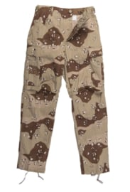 US Golfoorlog field trouser DBDU DESERT Six-Color Desert Pattern - maat Small Regular of Small Short - origineel 1984, 1986, 1990 of 1991!