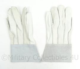 KL Landmacht of Luchtmacht witte werkhandschoenen - NIEUW - one size fits all - origineel