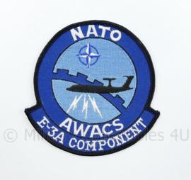 NATO Awacs E-3A Component embleem Luchtmacht - diameter 9 cm - origineel