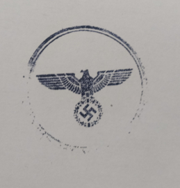 Duitse WO2 stempel (met moderne houder) Adelaar