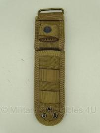 Universal Tactical Knife pouch Meshouder been -  25 X 7 X 1 cm.   - Khaki
