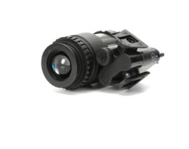 DUMMY PVS-18 Night Vision Device nachtkijker voor MICH FAST helm ZWART (zonder helm)