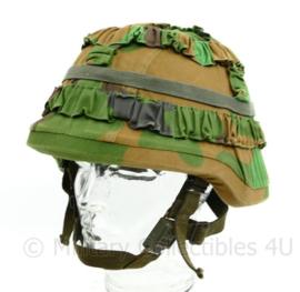 Defensie Jungle helm met helmovertrek en Custom liner - origineel
