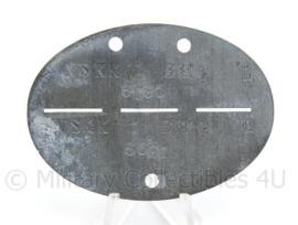 WO2 Duitse erkennungsmarke - NSKK Brigade - afmeting 7 x 5 cm - origineel