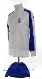 KL Nederlandse leger sport shirt lange mouw en sportbroek - maat shirt 5 en broek 4 - origineel