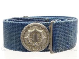 Nederlandse Gemeentepolitie koppel blauw - 105 cm - origineel