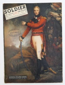 The British Army Magazine Soldier Vol.9 No 6 August 1953 -  Afkomstig uit de Nederlandse MVO bibliotheek - 30 x 22 cm - origineel