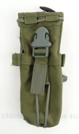 KL Landmacht en US Army MOLLE tas radio apparatuur - maker High Ground Gear - afmeting 24,5 x 8 x 2,5 cm - origineel