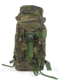 Korps Mariniers Grabbag Forest Woodland Camo rugzak - 40 liter - gebruikt - afmeting 70 x 38 cm - zeldzaam - origineel