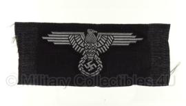 SS arm adelaar BEVO - officieren zwart / zilver